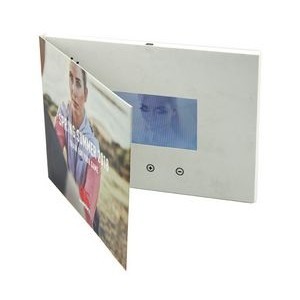 "4.3"" LCD Video Player A5 Bi-fold Card - 4GB"